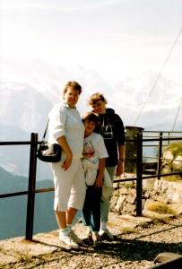 Travelling Kid Switzerland