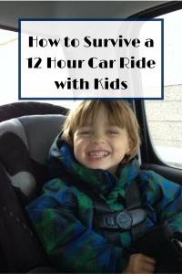 How to Survive a 12 Hour Car Ride with Kids