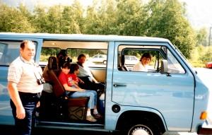 Travelling Kid Van