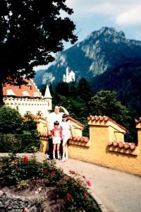 Travelling Kid neuschwanstein castle
