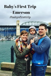 Baby's First Trip - Emerson