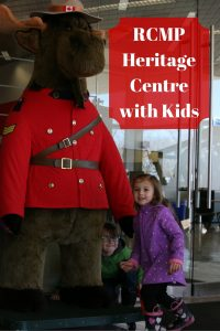 RCMP Heritage Centre with Kids