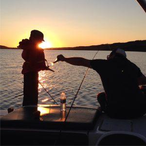 Boating Kids Fishing