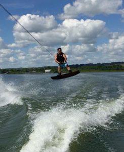 Jamie Wakeboarding