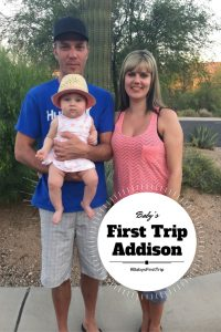 Baby's First Trip - Addison