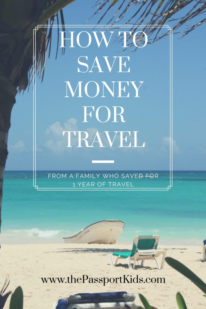 Find out the 7 Steps to help you save to travel more! We used these easy and simple steps to save enough money for our family to travel the world for 1 YEAR! Easy changes that you can make to help you travel more. #savemoneytotravel #travelbudget #budgettravel #savingtips