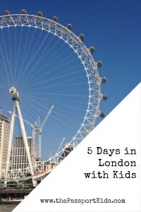 5 Days in London with Kids. Find out the Top 8 picks of fun things to do in London with your family. A 5 day London itinerary with kids, including Buckingham Palace, London Eye, Big Ben, Princess Diana Memorial Playground, South Bank and more. Make your London family trip planning easy! #london #londonkids #londoneye #buckinghampalace #southbank #wimbledon
