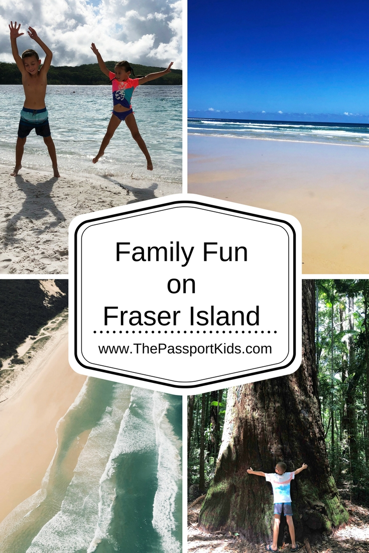Fraser Island in Australia is one of those places in the world that doesn't seem like it should exist. Fraser Island with kids is one of the best experiences you'll every have with your children. How can an island be entirely composed of SAND, never mind be the largest sand island in the world? Check out the Family Fun on Fraser Island. #fraserisland