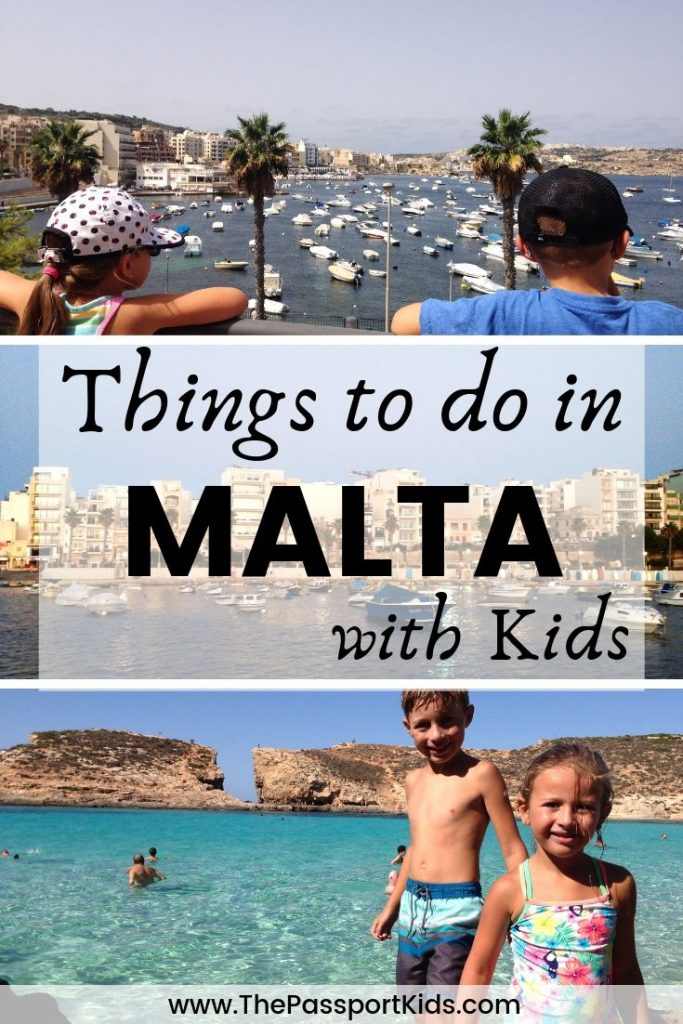 Find out the best things to do in Malta with kids. What to do in Malta including Valletta, Blue Lagoon, Popeye Village, Gozo Island, Malta National Aquarium and best beaches to visit on your next family holiday to Malta. All the information you need to make your Malta vacation fun and easy with kids! #malta #maltawithkids #bluelagoon #valletta #gozo