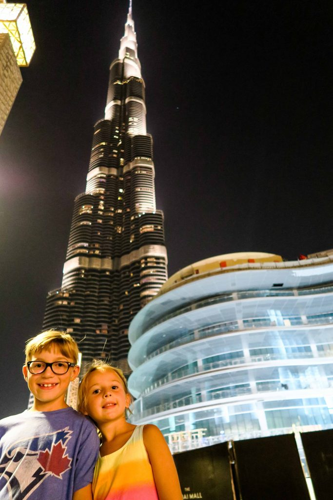 Find out the Top 10 Things to do in Dubai with Kids. Including Burj Khalifa, Dubai Mall, Gold souk, Spice Souck, Dubai Creek, desert safari, Palm Jumeirah Island, and more fun activities in Dubai for kids. Get all the best places to visit in Dubai for your next family vacation. #dubai #uae #burjkhalifa #jumeirahpalm #dubaimall #dubaicreek #goldsouk #spicesouk