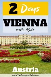 The best way to spend 2 days in Vienna, Austria! An easy Vienna itinerary to help you explore Vienna in 48 hours with kids. A MAP included for all the best places to visit like Schonbrunn Palace, Vienna State Operar House, Innere Stadt, St. Stephen's Cathedral, Museum Quarter, House of Music, Spanish Riding School, Belvedere Palace and so much more! #vienna #wien #austria #SchonbrunnPalace #operahouse #houseofmusic #spanishridingschool #stateopera
