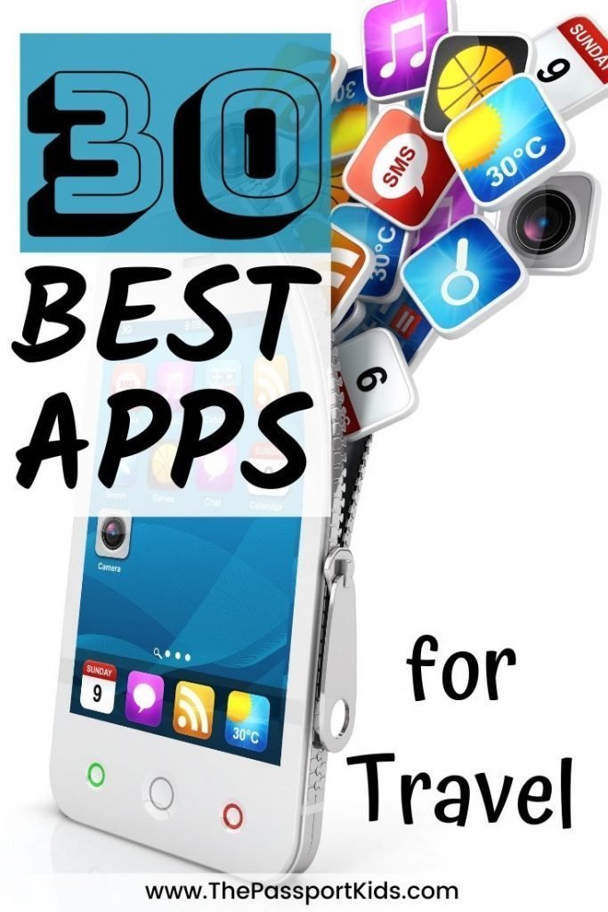 Find out the Best Vacation Apps to use for travelling! 30 of the Best Apps for Travel that will make your life easier for planning vacations, apps to help during your travels and organizing travel itineraries. #besttravelapps #travelapps #vacationapps #travelplanner #traveltech