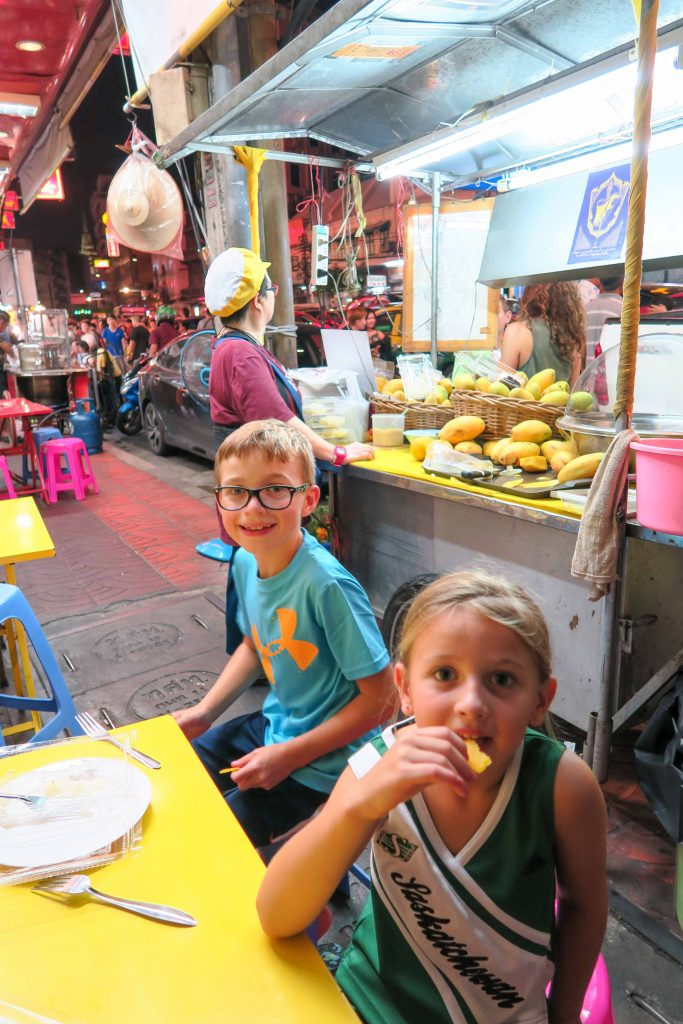 The best way to spend 2 days in Bangkok itinerary with Kids! An easy Bangkok, Thailand itinerary to help you explore Bangkok in 48 hours with kids. A MAP included for all the best places to visit like the Grand Palace, Emerald Buddha, Reclining Buddha, Temple of Dawn, Asiatique, Chinatown, Golden Buddha and so much more! #bangkok #thailand #grandpalace #emeraldbuddha #familytravel #southeastasia #itinerary