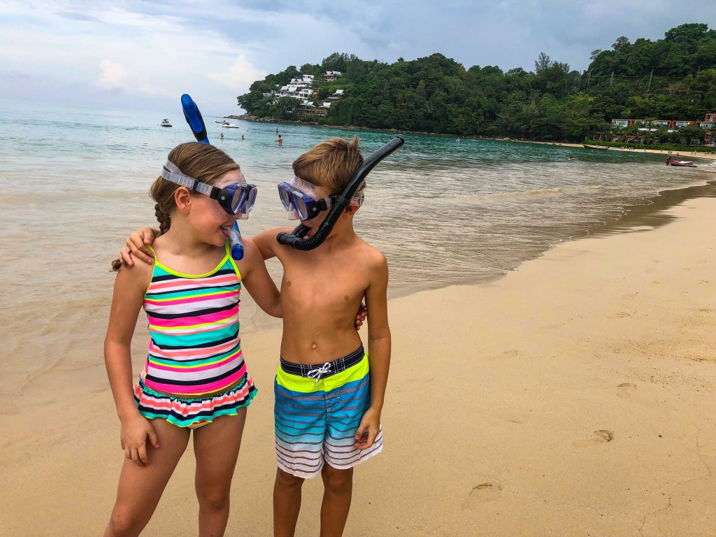 Find out the best things to do in Phuket with kids. What to do in Phuket including snorkelling, diving, Big Buddha, Elephant Sanctuary, night market, Phi Phi Islands, Thai food, longtail boats and the best beaches to visit on your next family holiday to Thailand. All the information you need to make your Phuket, Thailand vacation fun and easy with kids! #phuket #thailand #familytravel #southeastasia #phuketisland