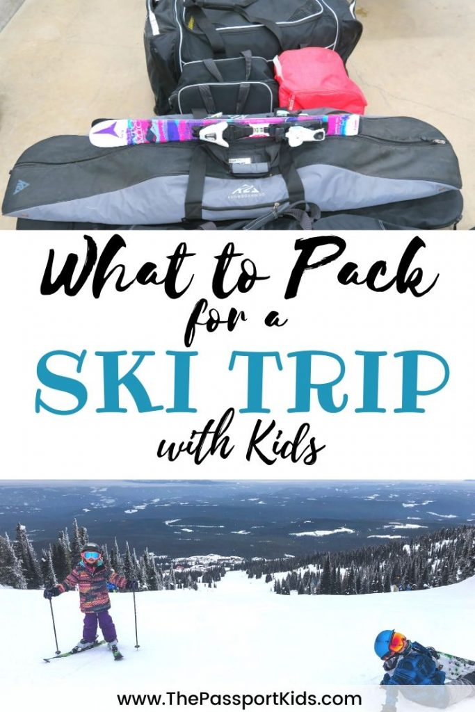 Are you planning on taking a family ski trip this winter and looking for some ski packing hacks? Here are some easy hacks for packing and tips for your family ski vacation. Includes a packing list family ski trip, hacks for packing, tips, advice and help to make your packing for family ski trip easy. #packing #skitrip #familypackinglist #skipacking
