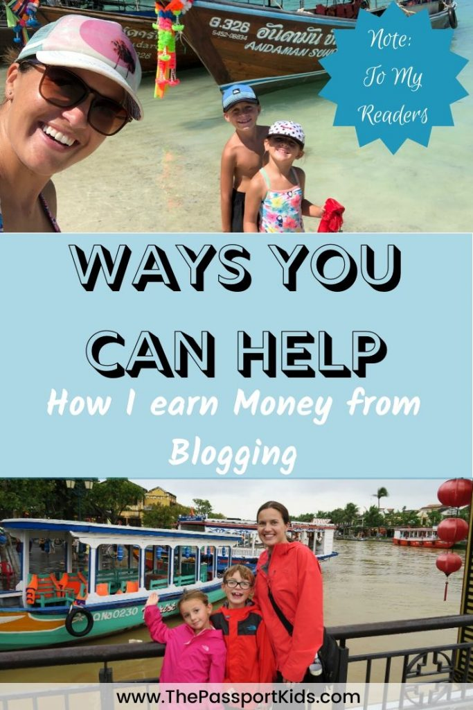 Do you wonder how I earn money from blogging? Or how YOUR help brings more posts and content to our website for others to read? If so, I've decided to share the behind the scenes of these details in this post. #blogging #earnmoneyblogging #bloggingincome