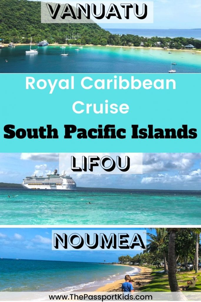 Find out all the details you will need to know about taking a Royal Caribbean South Pacific cruises out of Sydney, Australia. South Pacific destinations including Vanuatu, Lifou - Loyalty Island, Noumea - New Caledonia aboard the Explorer of the Seas cruise ship. Things to do on the cruise ship, info about the islands, cruise tips and more! #cruise #royalcaribbeancruise #royalcaribbean #comeseek #australiacruise #vanuatu #fiji #lifou #newcaledonia