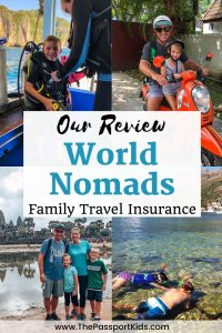 Find out all the details about World Nomads insurance for your family travel insurance needs here! We've put together our World Nomads travel insurance review based on our 1 year trip around the world with kids to help others when trying to make this critical decision for your trip. Everything that will help you based on our real-life experience! #worldnomads #worldnomadsinsurance #travelinsurance #fulltimetravelinsurance #familyinsurance