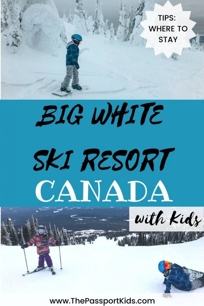 Find out all the information you need to know about your ski trip to Big White Ski Resort - accommodations, map, things to do, when to go and ski travel tips. Everything you need to know about planning a ski vacation to Big White, British Columbia, Canada from a local! Trail MAP included and best areas to stay in Big White, BC. #skibigwhite #explorekelowna #canada #bigwhite #skitrip #familyski #explorebc