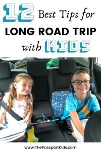 Planning a long road trip with kids? Here are some quick tips on how to survive a long car ride with kids. Our 12 best road trip hacks to enjoy your family road trip. Including the best road trip games, snacks, fun car activities and more. All the best information on how to survive a 12 hour road trip with kids! #roadtrip #longcarrides #kidsroadtrip #roadtriphacks #roadtripwithkids