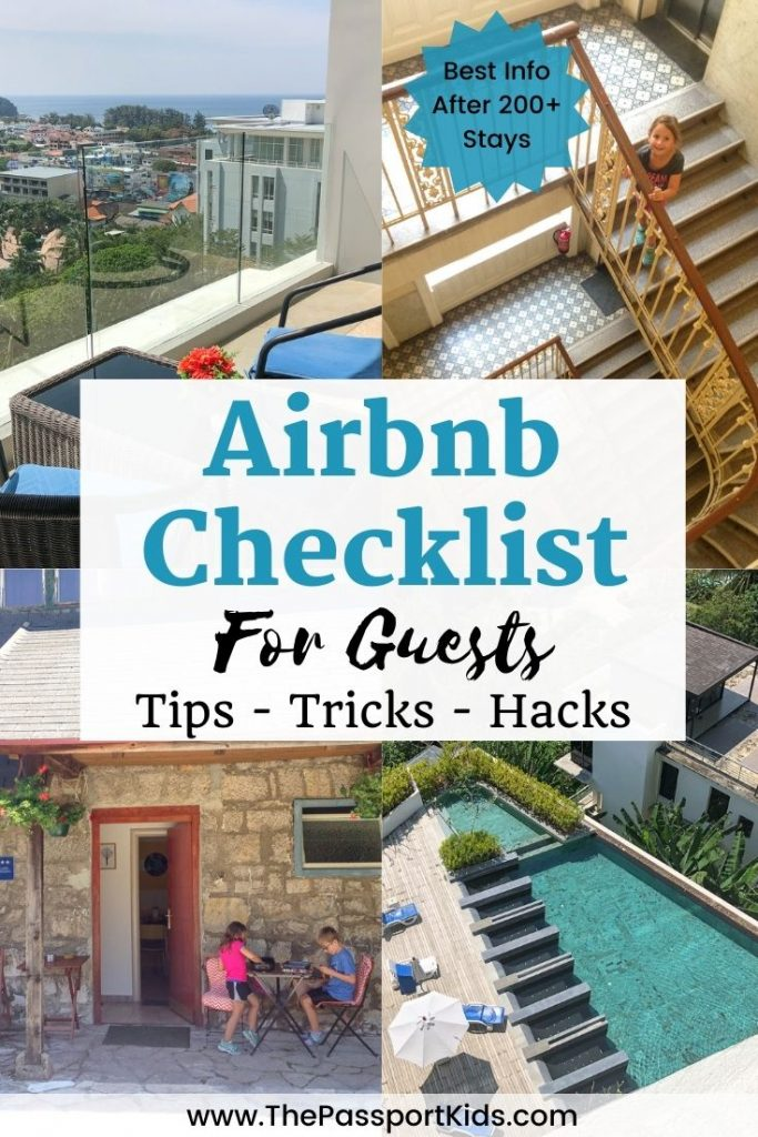 Here is the Best Airbnb Checklist for Guests to help you save money and find the best Airbnb to rent! Airbnb tips and tricks for Airbnb renters that can help you have the best Airbnb experience. Find out all our favourite Airbnb hacks that we used to travel the world! #airbnb #airbnbchecklist #airbnbtips #airbnbtricks #airbnbhacks #airbnbguesttips