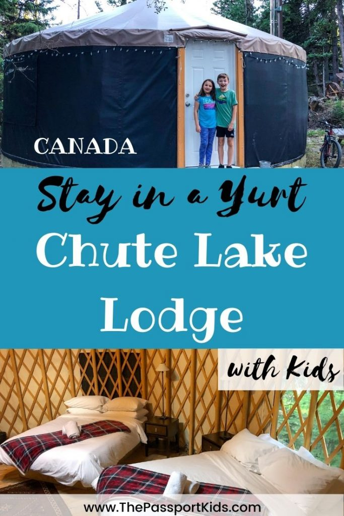 Chute Lake Lodge offers an easy and fun way for the entire family to go camping in the Naramata area. Chute Lake Resort offers so many unique ways to stay including yurts, glamping tents, cabins, and camping sites for tents and trailers. Chute Lake Lodge has direct access to the Kettle Valley Rail trail, fishing, paddleboarding, kayaking, hiking, biking and more! If you are looking for a cabin rental in the Okanagan this is your place! #chutelakelodge #explorebc #okanagan #naramata #canada #hellobc #glamping #bccamping