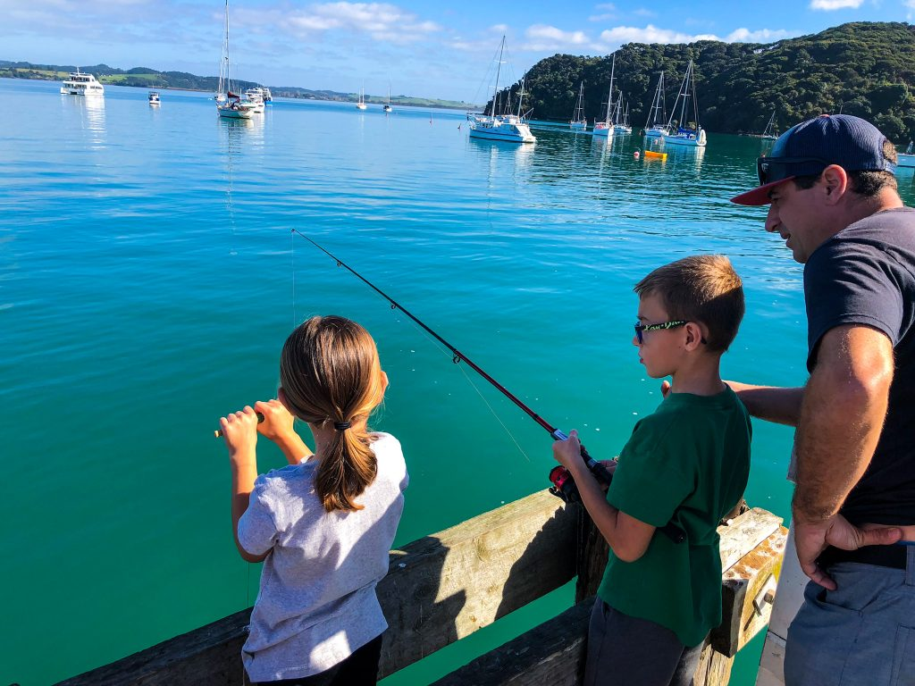Find out the Best Fishing Poles for Kids! An easy and quick chart to help you find the best fishing rod for kids to purchase. Fishing poles shopping guide that includes all the comparisons with age, reel and pole types. A quick fishing pole shopping guide for children. #fishingrods #fishingpoles #kidsfishing #fishingkids #outdoorkids #fishing #fishinggear