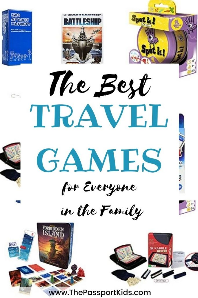 Here are some fun family friendly travel board games. The best board games for travel and small spaces. Find new board games for travelling or a card game to take on your next vacation that is kid friendly and games to play on vacation with friends. #boardgames #travelgames #cardgames #travelboardgames #gamestravel #smallgames