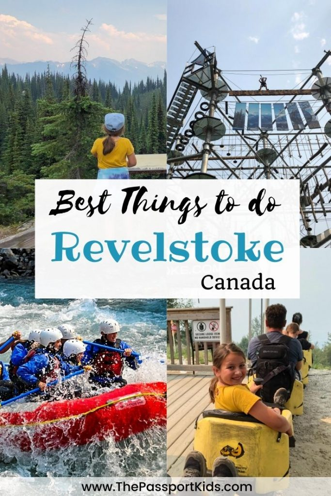 Find out the Top 15 Things to do in Revelstoke British Columbia during the summer. All the family-friendly things to do in Revelstoke with kids (or without kids) that can make a fun vacation including Revelstoke Mountain Resort, Revelstoke National Park, white water rafting, Enchanted Forest, SkyTrek, local artisan, hikes, waterfalls and more! Everything you need to know about visiting Revelstoke in the summer with your family. #therealstoke #revelstoke #explorebc #canada #hellobc #explorecanada